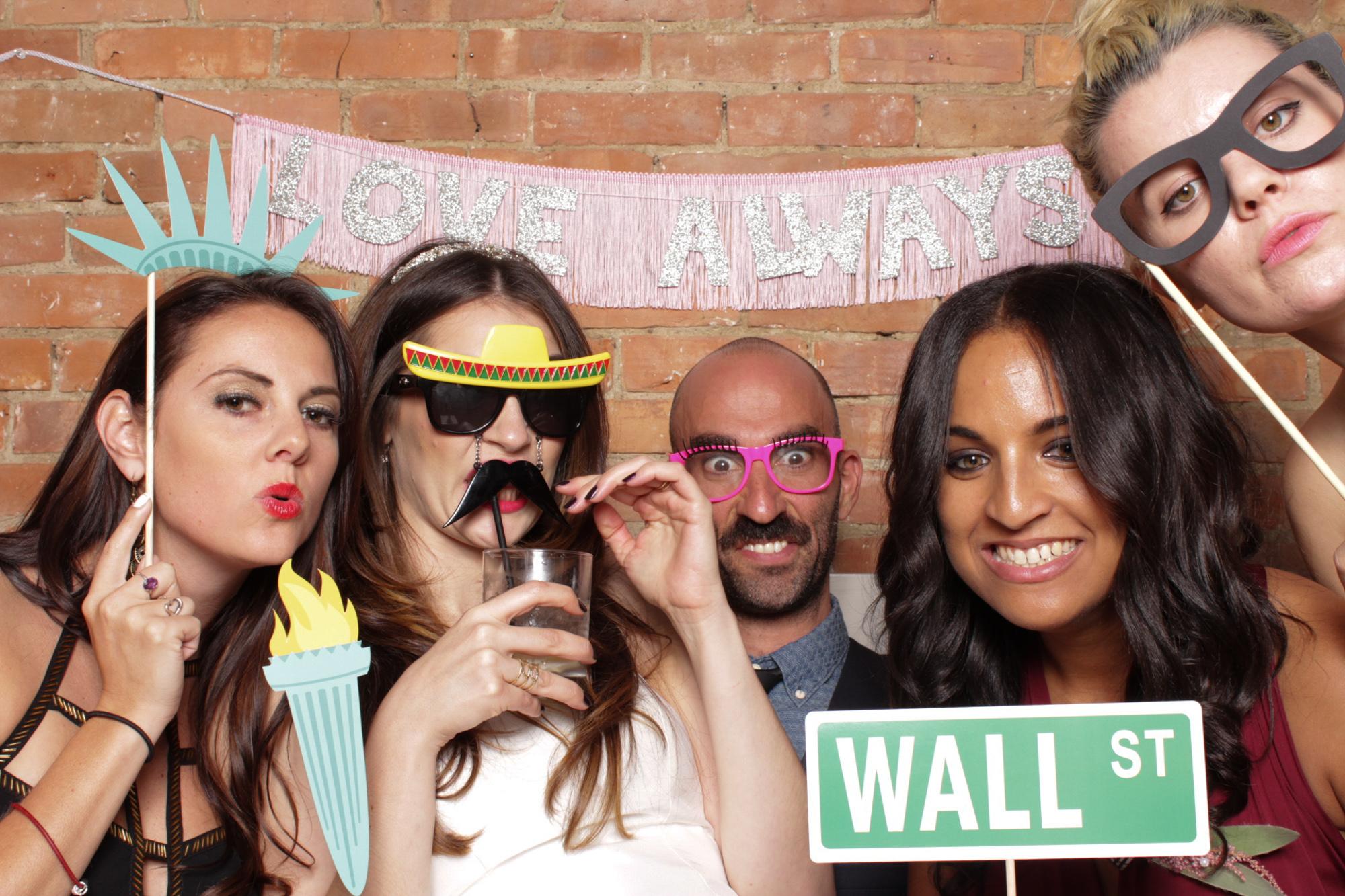 nyc photo booth wedding